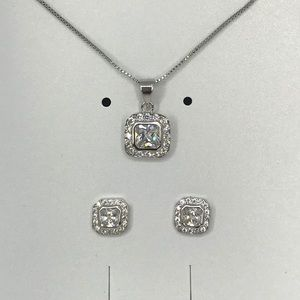 Jewelry - Princess cut square set